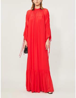 Camilla And Marc Catalina puffed-sleeve woven maxi dress