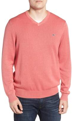 Vineyard Vines Cotton & Cashmere V-Neck Sweater