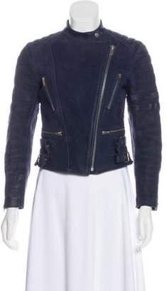 Celine Nubuck Biker Jacket