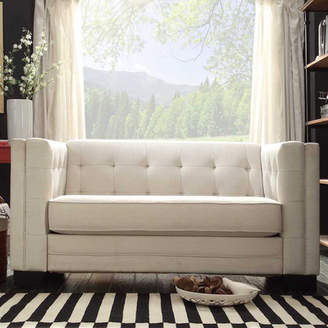 Mercury Row Rolland Tufted Upholstered Loveseat
