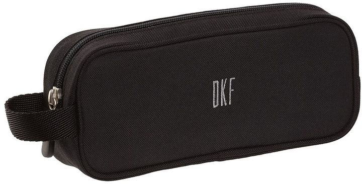 STUDY Gear-Up Solid Black Pencil Case
