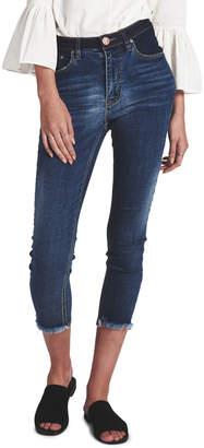 One Teaspoon Superstar Blue Freebirds Ii High Waist Skinny Jean