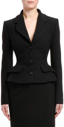 Dolce & Gabbana Wool Peplum Jacket