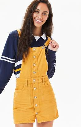 PacSun Button Front Corduroy Dress