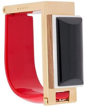 Marni geometric cuff