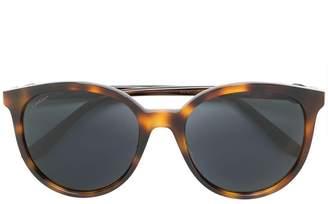 Cartier round frame tortoiseshell sunglasses