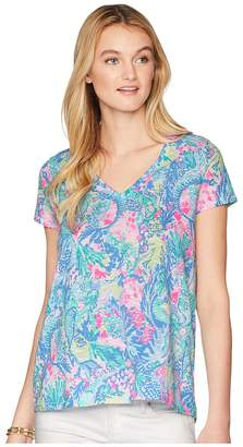 Lilly Pulitzer Etta Top Women's T Shirt