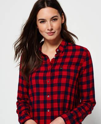 Superdry Crop Check Shirt