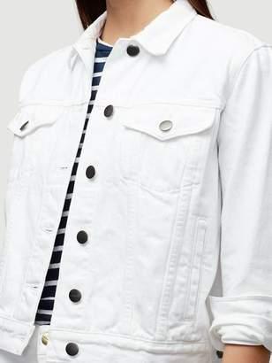 Frame Denim Rigid Re-Release Jacket Blanc
