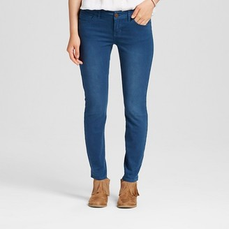 Dollhouse Women's Mid Rise Colored Skinny Jeans - Dollhouse (Juniors') $32.99 thestylecure.com