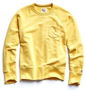 Todd Snyder + Champion Classic Pocket Sweatshirt in Yellow