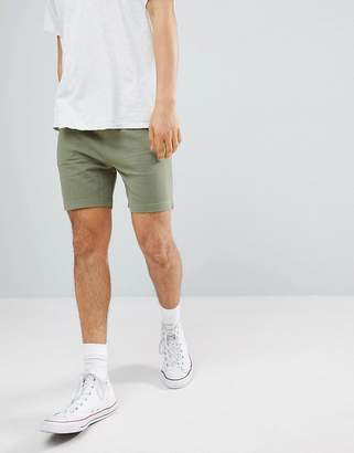 Another Influence Basic Peached Jersey Shorts