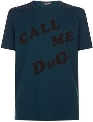 Dolce & Gabbana Distressed T-Shirt