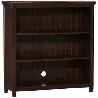 Pottery Barn Teen Beadboard 3-Shelf Bookcase, Dark Espresso