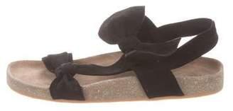 Ulla Johnson Suede Slingback Sandals