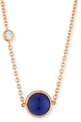 Piaget 18k Possession Lapis Pendant Necklace
