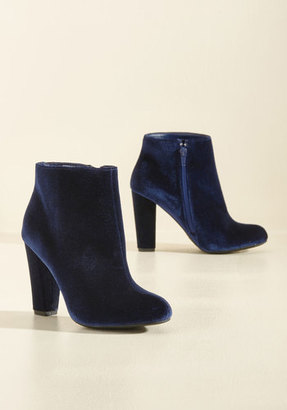J.P. Original Corp. Edit Velvet In Bootie $49.99 thestylecure.com
