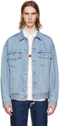 Levi's Levis Blue Denim Silvertab Trucker Jacket