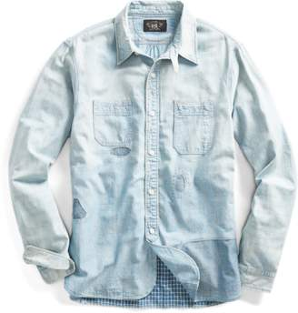 Distressed Chambray Workshirt