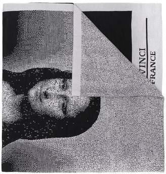 Bernhard Willhelm Mona Lisa scarf