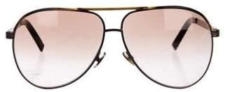 Gucci Aviator Gradient Sunglasses