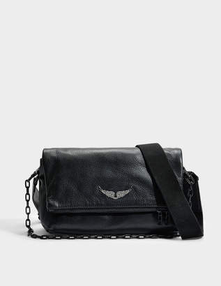 Zadig & Voltaire Rocky Bag in Black Cow Leather
