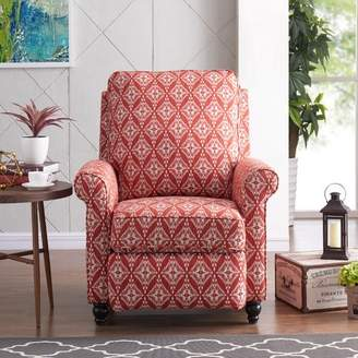 Charlton Home Whitehaven Manual Recliner Upholstery