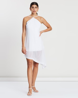 NA-KD Halter Neck Midi Dress
