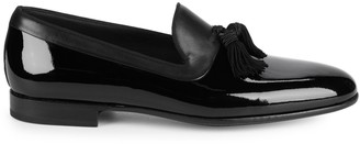 Magnanni Tassel Patent Leather Loafers