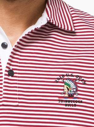 Michael Kors Mens 2018 U.S. Open Striped Polo Shirt