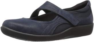 Clarks Women's Cloudstepper Sillian Bella Mary Jane Flats
