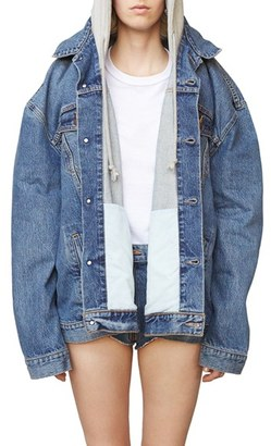 Women's Vetements X Levi's Denim Jacket $2,420 thestylecure.com