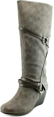 Blowfish Women's Board Synthetic Knee-High Leather Boot - 7.5M