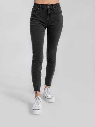 Articles of Society High Rise Cisco Super Skinny Jeans in Dark Pewter Denim