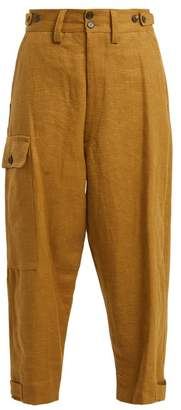 Vivienne Westwood Military Hemp Trousers - Womens - Khaki