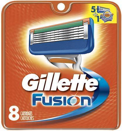 Gillette Fusion Manual Men's Razor Blade Refills