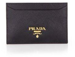 pradaPrada Saffiano Leather Card Case