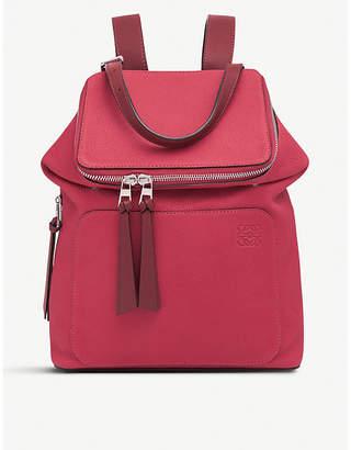 Loewe Goya small leather backpack