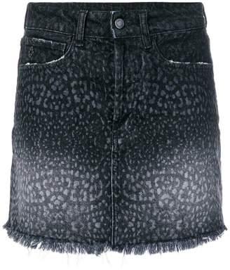 Marcelo Burlon County of Milan short denim skirt