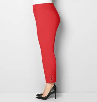 Avenue Faceted Stone Super Stretch Ankle Pant