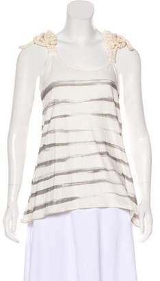 Sass & Bide Striped Sleeveless Top w/ Tags