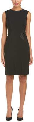 Lafayette 148 New York Wool-Blend Sheath Dress