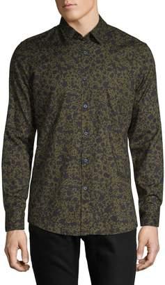 Boss Casual Printed Long-Sleeve Shirt