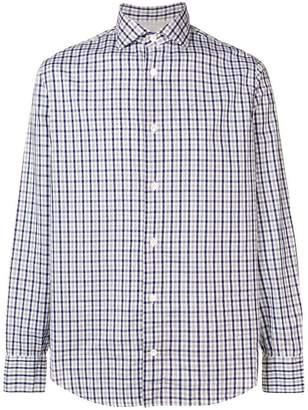 Eleventy check shirt