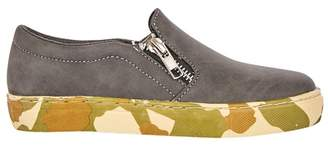 Outfit Kids - Boys' Grey Camo Trainers