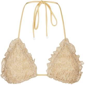 Missoni Mare Lurex Frill Bikini Top