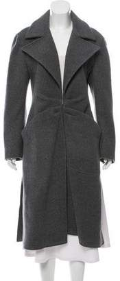 Roberta Furlanetto Wool Trench Coat w/ Tags