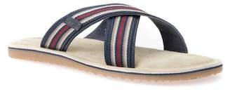 Geox Artie 14 Cross Strap Slide Sandal (Men)