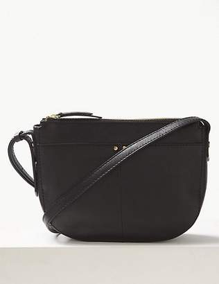 M&S Collection Leather Cross Body Bag