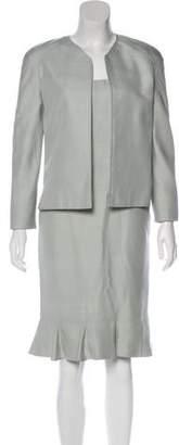 Valentino Silk Dress Set